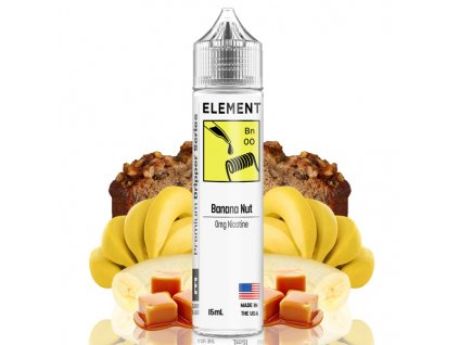 Příchuť Element Shake and Vape Banana Nut 15ml