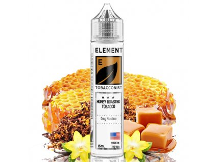 Příchuť Element Shake and Vape Honey Roasted Tobacco 15ml