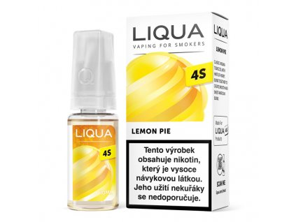e-liquid LIQUA 4S Lemon Pie 10ml - 20mg nikotinu/ml