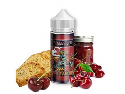 Příchuť Vape Factory Cherry Jam SaV 10ml