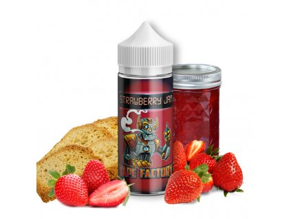 Příchuť Vape Factory Strawberry Jam SaV 10ml