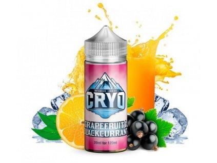 Příchuť Infamous Cryo Grapefruit and Blackcurrant SaV 20ml