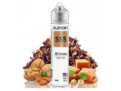 Příchuť Element Shake and Vape 555 Tobacco 15ml
