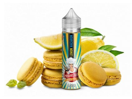 Příchuť PJ Empire Cream Queen SaV Lemon Macaron 10ml