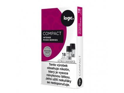 JTI Logic Compact náplň Intense Mixed Berries 1,7ml 18mg - 2ks