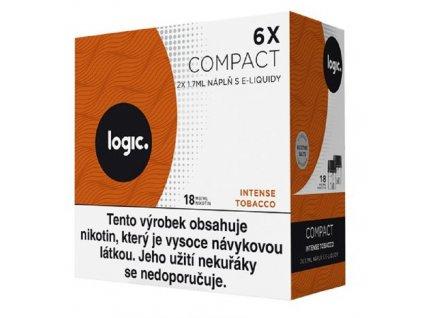 JTI Logic Compact náplň Intense Tobacco 1,7ml 18mg 6ks