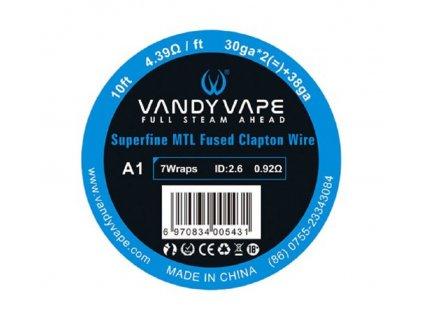 Vandy Vape Superfine MTL Fused Clapton Kanthal A1