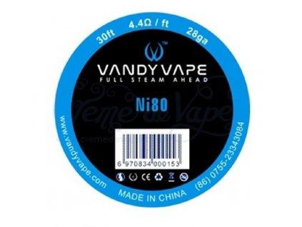 Vandy Vape Ni80 nichromový odporový drát 9m 28GA 0,3mm