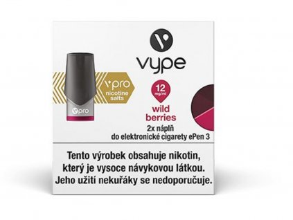 Vype ePen 3 náplň Wild Berries 2ml 12mg 2ks
