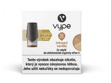 Vype ePen 3 náplň Infused Vanilla 2ml 12mg 2ks velký