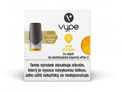 Vype ePen 3 náplň Just Mango 2ml 12mg 2ks