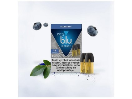 My Blu náplň Blueberry Intense 1,5ml 18mg