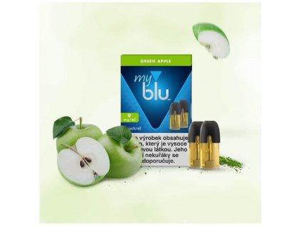 My Blu náplň Green Apple 1,5ml 9mg