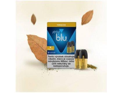 My Blu náplň Tobacco 1,5ml 9mg