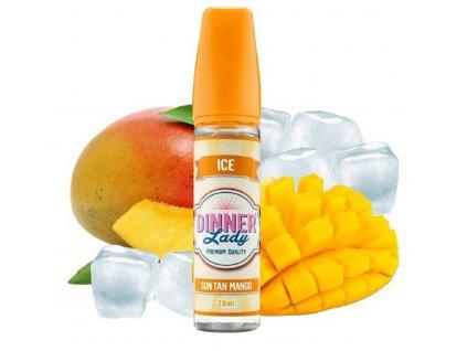 Příchuť Dinner Lady Ice Sun Tan Mango 20ml