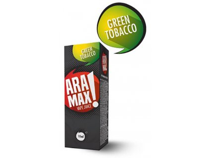 e-liquid ARAMAX Green Tobacco 10ml