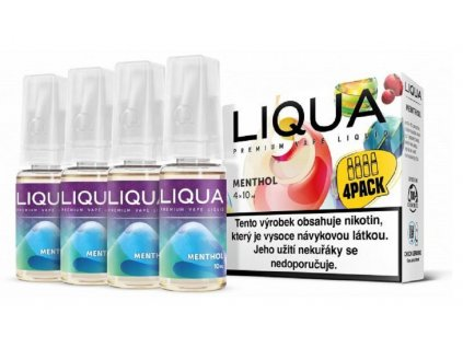 e liquid LIQUA Elements Menthol 10ml 4x10ml