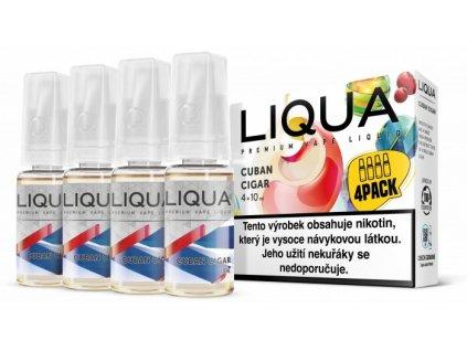 e-liquid LIQUA Cuban Cigar Tobacco 10ml 4x10ml