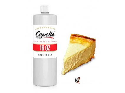 Příchuť Capella 473ml New York Cheesecake V2 (Newyorský Cheesecake)