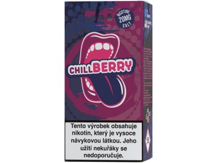 e-liquid Big Mouth SALT Chill Berry 10ml - 20mg nikotinu/ml