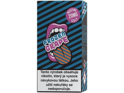 e-liquid Big Mouth SALT Frozen Grape 10ml - 20mg nikotinu/ml