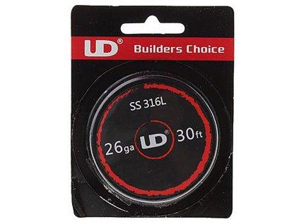 3071 1 ud ss316l nerezovy odporovy drat 10m 28ga 0 3mm
