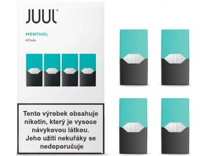 Cartridge JUUL Menthol 18mg - 4ks