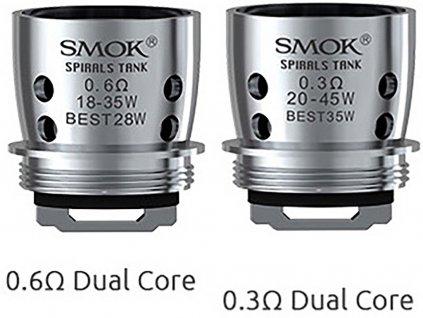 SMOK Žhavící hlava Dual Core pro Spirals tank