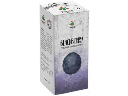 e-liquid Dekang Blackberry (Ostružina), 10ml
