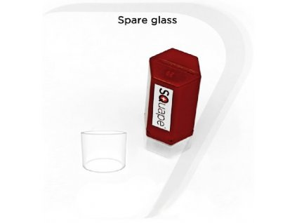 SQUAPE E Motion náhradní sklo 2ml