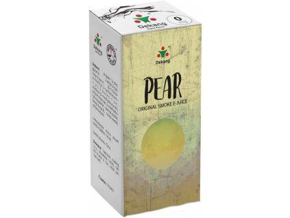 e-liquid Dekang Pear (Hruška), 10ml