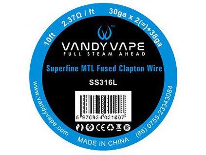 8708 1 vandy vape superfine mtl fused clapton ss316l