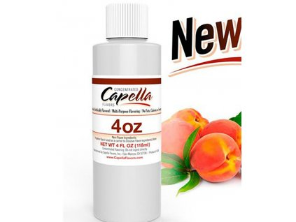 9401 1 prichut capella 118ml yellow peach sladka a stavnata broskev