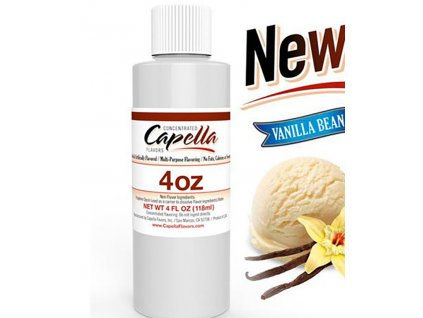 9458 1 prichut capella 118ml vanilla bean ice cream vanilkova zmrzlina
