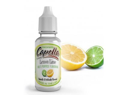 3650 1 prichut capella 13ml lemon lime citron a limetka