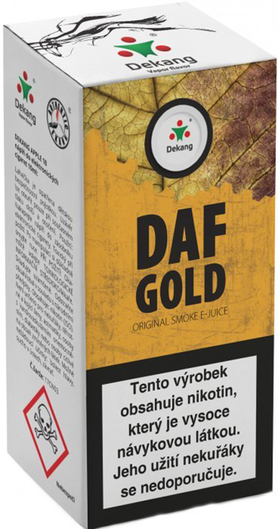e-liquid Dekang DAF GOLD, 10ml Obsah nikotinu: 6 mg