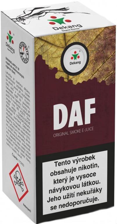 e-liquid Dekang DAF, 10ml Obsah nikotinu: 3 mg