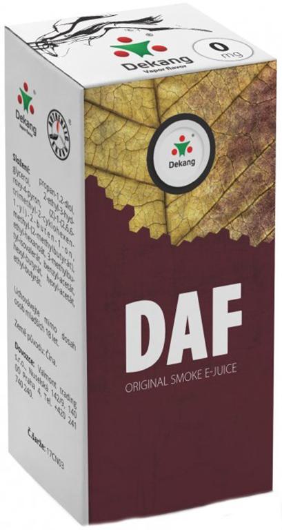 e-liquid Dekang DAF, 10ml Obsah nikotinu: 0 mg