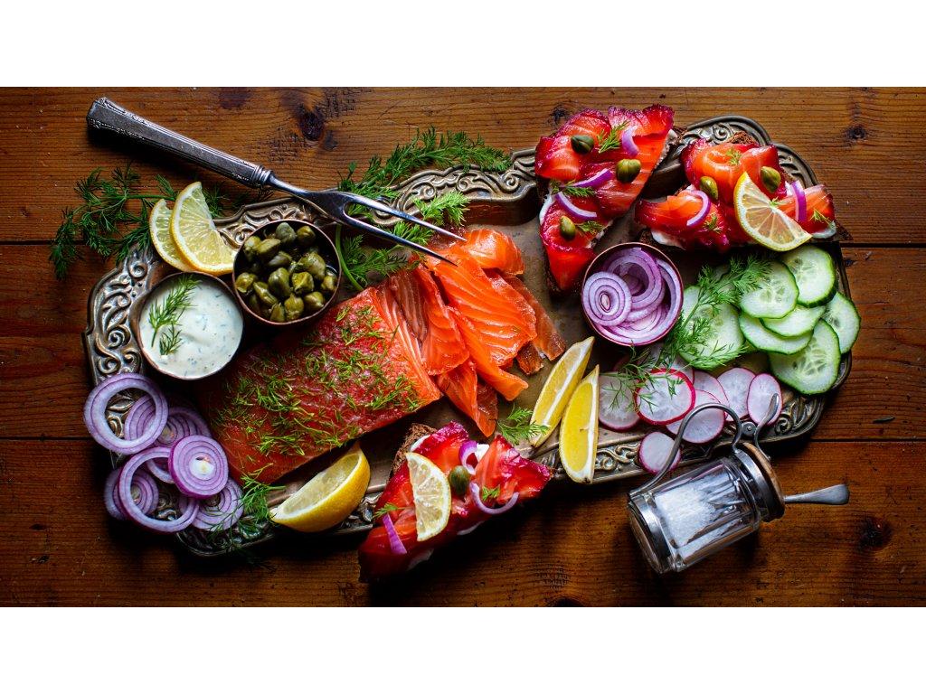 marinovany losos silvestr obcerstveni recept