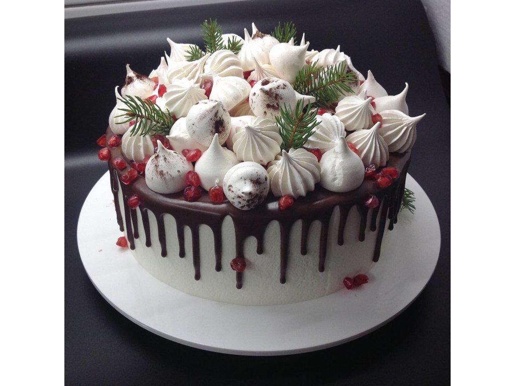 stékaný dort 1