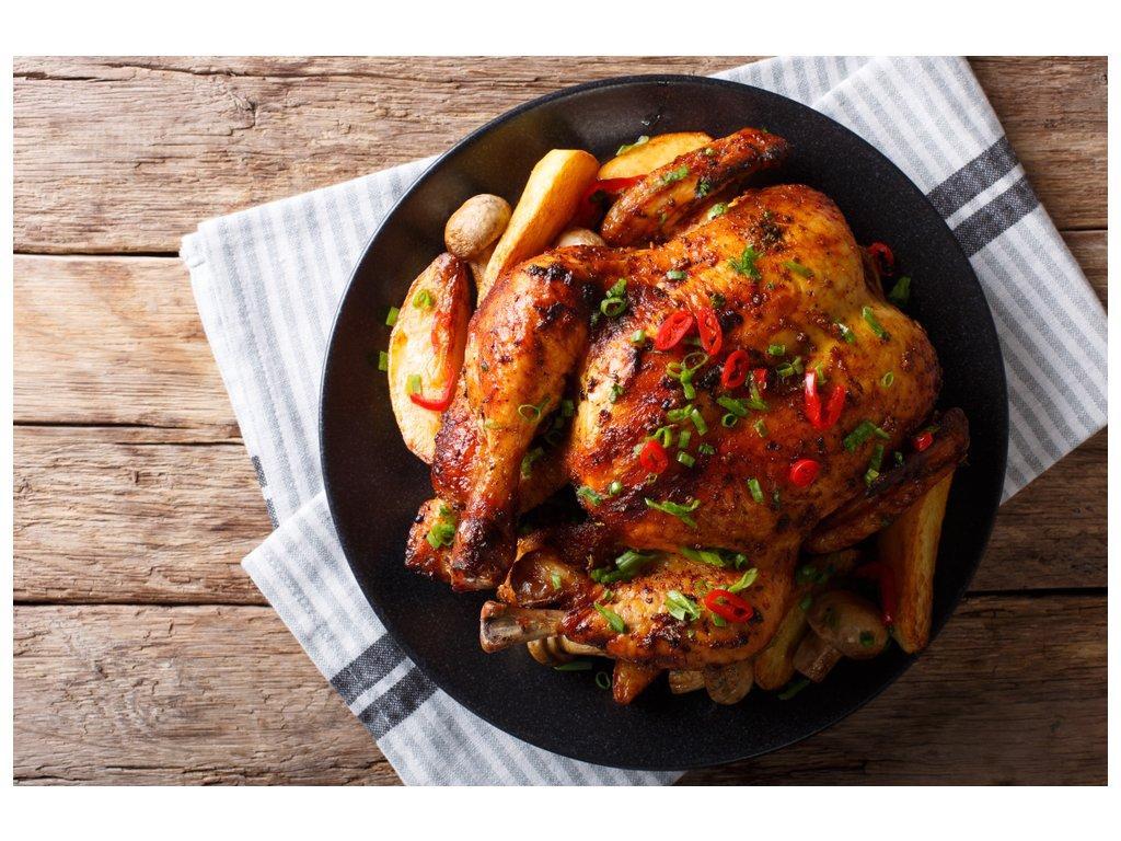 kuře pečené