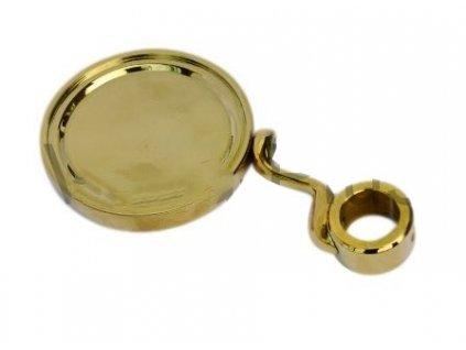 Medailon zlatý D=90, s držákem S
