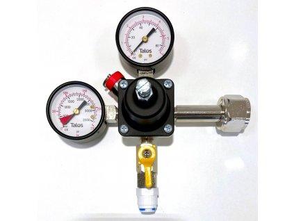 Redukční ventil CO2 - 1 odběr SG 3/8