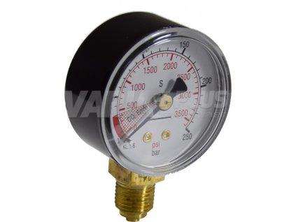 Manometr CO2 vysoký tlak 250 bar