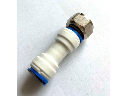 SG spojka přímá vnitřní závit 5/8 hadice 1/2 kovová matice