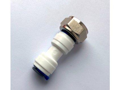SG spojka přímá vnitřní závit 5/8 hadice 3/8 kovová matice