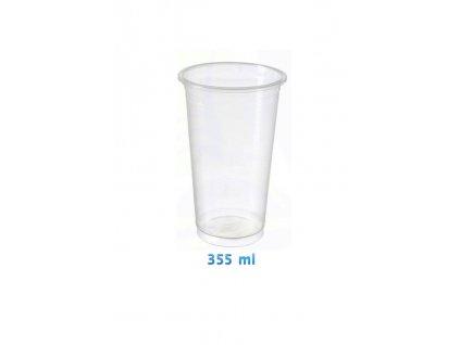 Kelímek PP 12oz 360ml 95mm Bubble Tea 50ks