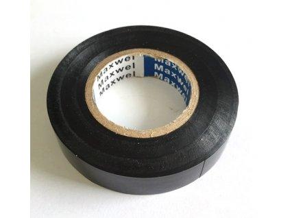 Izolační páska PVC černá 15 mm x 20 m