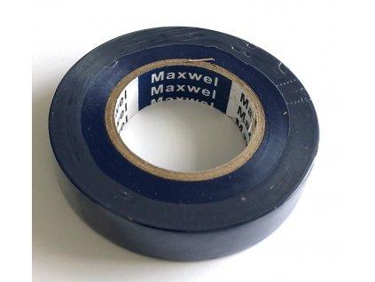 Izolační páska PVC modrá 15 mm x 20 m