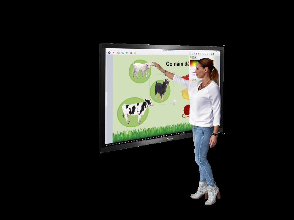Dotykové LCD displeje